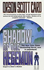 Shadow of the Hegemon (Ender, Book 6) by…