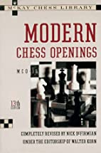 Modern Chess Openings by R. C. Griffith