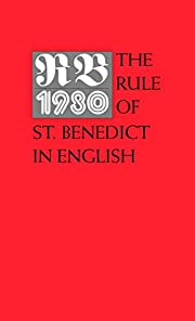 RB 1980: The Rule of St. Benedict in English…