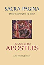 The Acts of the Apostles (Sacra Pagina…