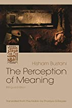 The Perception of Meaning (Middle East…