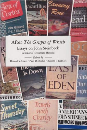 after the grapes of wrath essays on john steinbeck in honor of after the grapes of wrath essays on john
