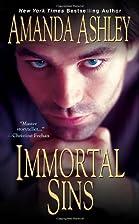 Immortal Sins by Amanda Ashley