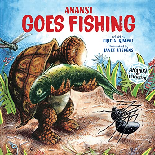 Anansi goes fishing lexile find a book metametrics inc for Anansi goes fishing