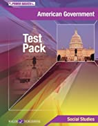American Government, Test Pack (Power…