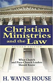 Christian Ministries and the Law: What…