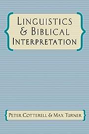 Linguistics & Biblical Interpretation av…