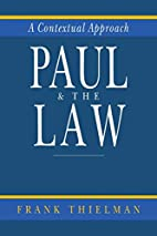 Paul and the Law: A Contextual Approach by…