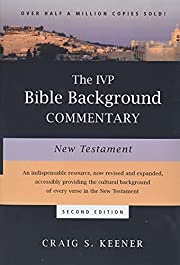 The IVP Bible Background Commentary: New…