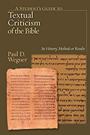 A Student's Guide to Textual Criticism of…