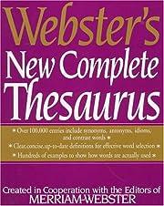 Webster's New Complete Thesaurus: av…