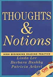 Thoughts & Notions: High Beginning Reading…