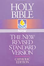 Holy Bible: The New Revised Standard…