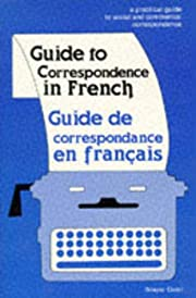 Guide to Correspondence in French de Simone…