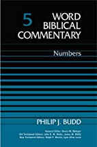 Word Biblical Commentary Vol. 5, Numbers by…