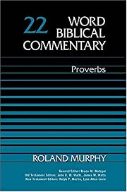 Word Biblical Commentary Vol. 22, Proverbs…