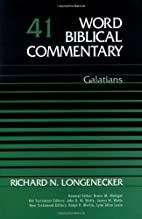 Word Biblical Commentary Vol. 41, Galatians…