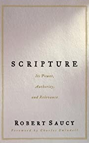 Scripture af Robert L. Saucy
