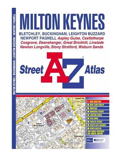 A-Z Milton Keynes Street Atlas Geographers' A-Z Map Company
