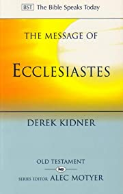 The Message of Ecclesiastes: A Time to Mourn…