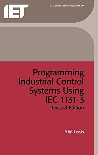 PDF] Programming Industrial Control Systems Using IEC 1131-3 (I E E