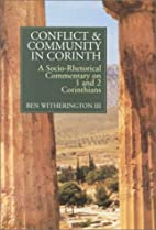 Conflict and Community in Corinth:…