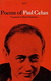 Poems of Paul Celan Hb (English and German…