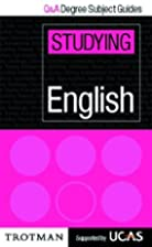 Studying English (Q & A Degree Subject…