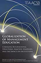 Globalization of Management Education:…