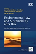 Environmental Law and Sustainability After…