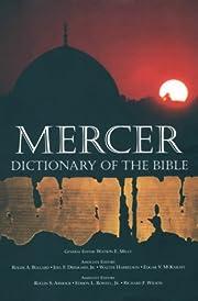 Mercer Dictionary of the Bible – tekijä:…