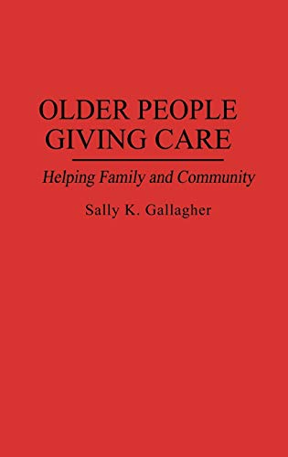 a paper on older people and care giving The following is a list of helpful caregiving resources  since 1994, so older  adults can age in their home, and caregivers can get a well-earned break  it  has an extensive list of publications on caregiving and papers on the.