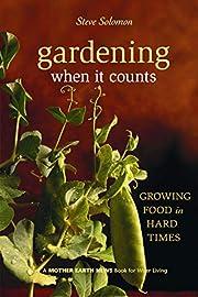 Gardening When It Counts: Growing Food in…