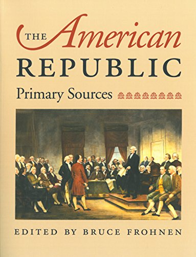 The American Republic, Frohnen, Bruce