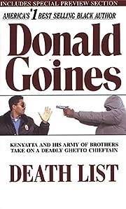 Death List (Kenyatta) af Donald Goines