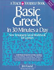 Basic Greek in Thirty Minutes a Day: New…