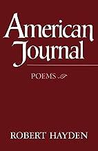 American Journal: Poems by Robert Hayden