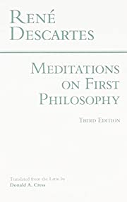 Meditations on First Philosophy (Hackett…