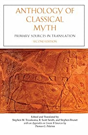 Anthology Of Classical Myth: Primary Sources…