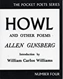 Howl and Other Poems (City Lights Pocket Poets, No. 4), Ginsberg, Allen