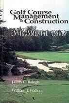 Golf course management & construction :…