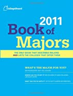 Book of Majors 2011 by The College Board