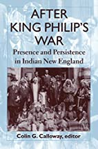 After King Philip's War: Presence and…