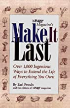 Yankee Magazine's Make It Last: Over 1,000…