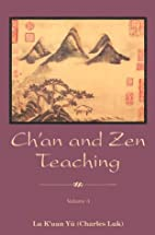 Ch'an and Zen Teaching (3 Volumes) by…