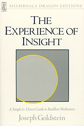 Experience of Insight, by Goldstein, J