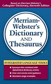 Merriam-Webster's Dictionary and…