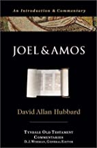 Joel and Amos (Tyndale Old Testament…