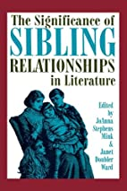The Significance of Sibling Relationships in…
