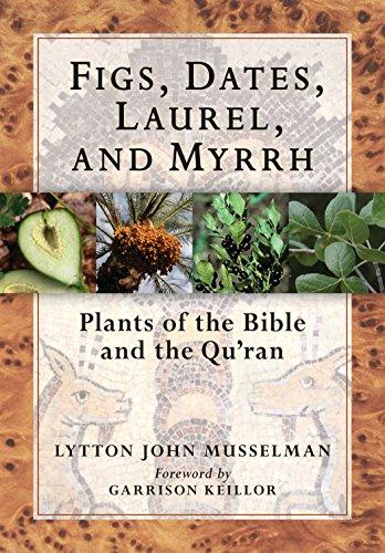 Figs, dates, laurel, and myrrh